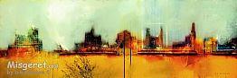 עיר מוצפת אור