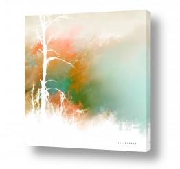 אור צללית | עץ ערום