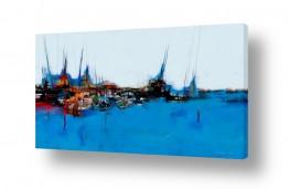 ציורים אמנות דיגיטלית | סירות