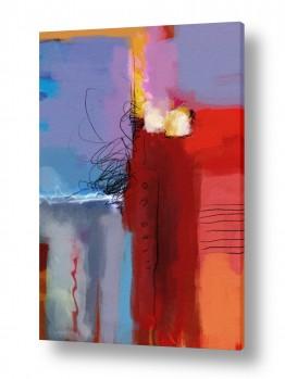 צבעים פופולארים צבע סגול | מופשט 117