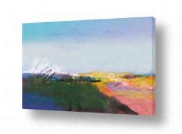 ציורים גורדון  | שדות שבעמק