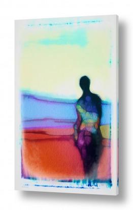 ציורים אמנות דיגיטלית | היום שבו עזבת