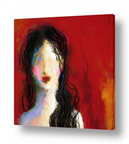 ציורים אמנות דיגיטלית | ילדה יפה נורא