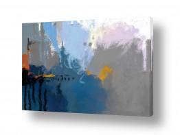 ציורים עיצוב מודרני | מופשט 203