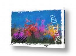 ציורים אבסטרקט | מותר לאהוב