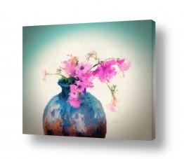 טבע דומם אגרטל פרחים | הרגע שבו חייכת אלי