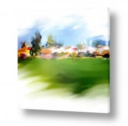 נושאים תמונות נופים נוף | שדות ירוקים