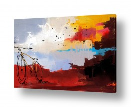 ציורים אמנות דיגיטלית | בפאתי הכפר