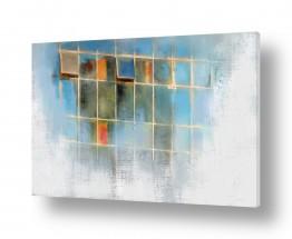 ציורים עיצוב מודרני | חלונות בהקיץ
