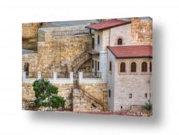 טבע דומם חלונות | מנזר המרסבא