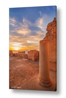 צילומים צילום ארכיאולוגי | זריחה במצדה