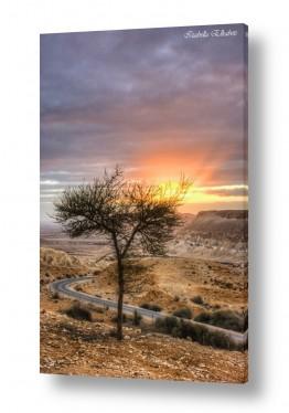 נוף שקיעה | זריחה בשדה בוקר