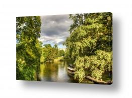 תמונות לפי נושאים השתקפות | נהר בעיר