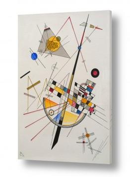 אמנים מפורסמים קנדינסקי וסילי | Delicate Tension