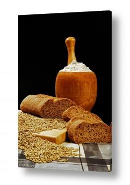 אוכל ארוחת בוקר | לחם