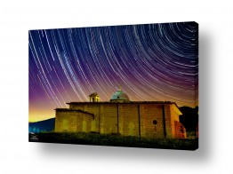 נושאים חלל ואסטרונומיה | כוכבים בכנסיה