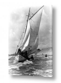 צילומים ארץ ישראל הישנה | תל אביב 1937 - זאב הים