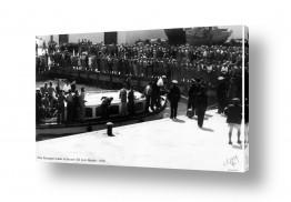 כלי שייט אוניה   תל אביב 1938 - נוסע ראשון