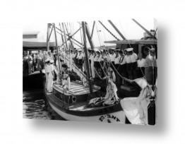 תל אביב נמל תל אביב   תל אביב 1937 - צופי ים
