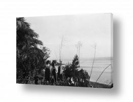 צילומים ארץ ישראל הישנה | כנרת 1944 - קיבוץ מעגן