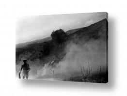 צילומים ארץ ישראל הישנה | חקלאים בשות ביתניה 1945