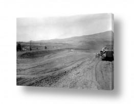 צילומים ארץ ישראל הישנה | ביתניה 1945 - הכשרת קרקע