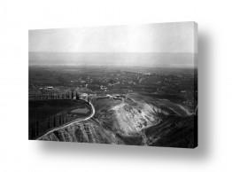 צילומים דוד לסלו סקלי | יריחו 1945 - מבט מלמעלה