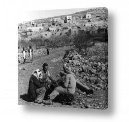 צילומים ארץ ישראל הישנה | עבודות במעיין 1947 - עלאר
