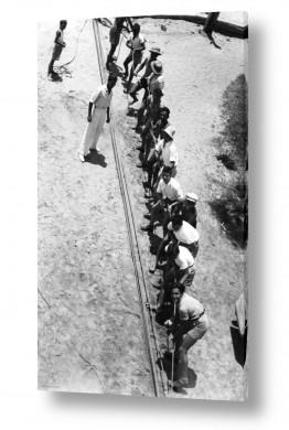 תמונות לפי נושאים חבל   תל אביב 1939 משיכת חבל