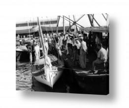 צילומים דוד לסלו סקלי | תל אביב 1939 מסדר צופי ים