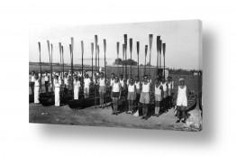 צילומים ארץ ישראל הישנה | תל אביב 1939 מסדר משוטים
