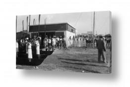 צילומים ארץ ישראל הישנה | תל אביב 1939 מסדר צופים