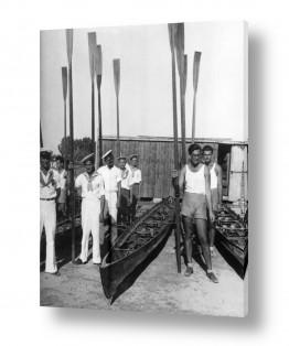 צילומים ארץ ישראל הישנה | תל אביב 1939 מסדר צופי ים