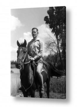 תמונות לפי נושאים אקליפטוס | תל אביב 1941 פרש  בירקון
