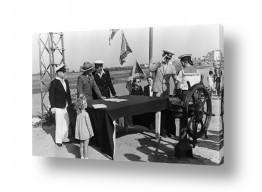 צילומים ארץ ישראל הישנה | תל אביב 1939 טקס סיום