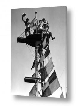 צילומים ארץ ישראל הישנה | תל אביב 1939 בראש התורן