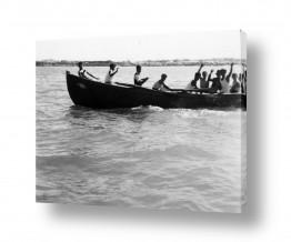 תמונות לפי נושאים משוטים | תל אביב 1939 בסירת משוטים