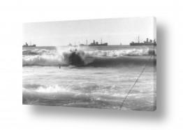 כלי שייט אוניה | תל אביב 1937 הצלת טובע