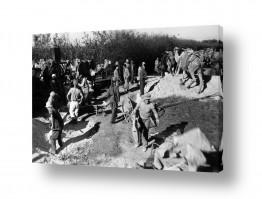 צילומים ארץ ישראל הישנה | נבי רובין 1940 עבודת בניה