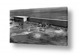 צילומים ארץ ישראל הישנה | נבי רובין 1940 מפעל מים