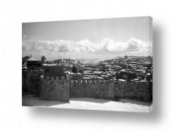 צילומים ארץ ישראל הישנה | ירושלים העתיקה 1942 שלג