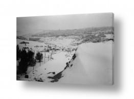 צילומים ארץ ישראל הישנה | ירושלים 1942 שלג