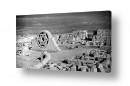 צילומים דוד לסלו סקלי | יריחו 1945 - עתיקות