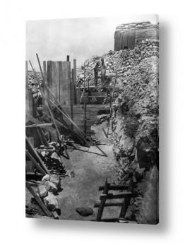 צילומים ארץ ישראל הישנה | נווה אילן 1948 ביצורים
