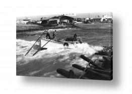 תמונות לפי נושאים משוטים | תל אביב 1937 סירת משוטים