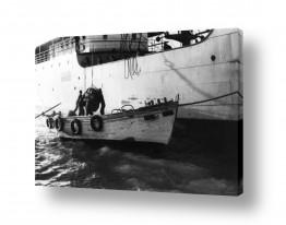 כלי שייט אוניה   תל אביב 1937 העמסת מטען