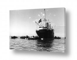 כלי שייט אוניה   תל אביב 1937 Vasaland