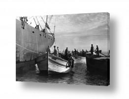כלי שייט אוניה   תל אביב 1937 סירות מטען