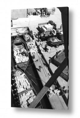 כלי רכב משאית | תל אביב 1937 הטענת תפוזים