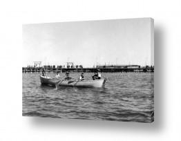 צילומים ארץ ישראל הישנה | תל אביב 1939 משייטים בנמל